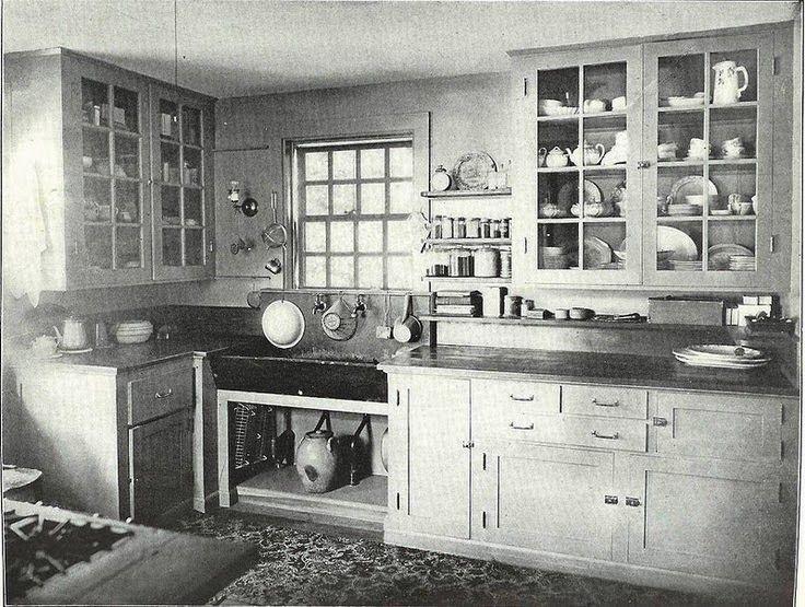 Dockbutiken i Göteborg: Dockhus och dockskåp lite inspirationsbilder för kök från ca 1920-1940