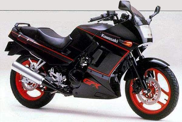 Kawasaki GPX250R 1989-91