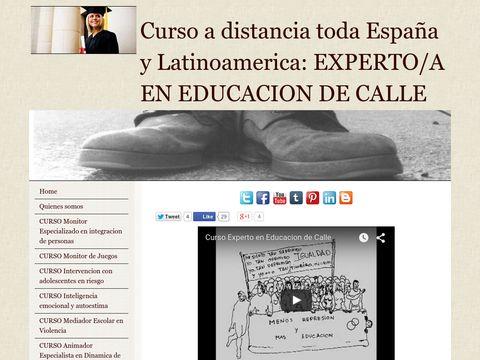 Cursos para diplomados y licenciados en pedagogia, psicologia, trabajo social, educacion social