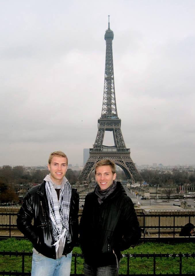 Tom Bridegroom & Shane Bitney Crone in Paris - See more: https://www.facebook.com/photo.php?fbid=473223256091831&set=pb.115224061891754.-2207520000.1384900877.&type=3&theater