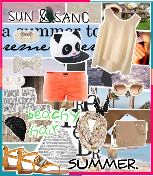 """Summer Fun!"" by iloveyoutothemoonandback ❤ liked on Polyvore"