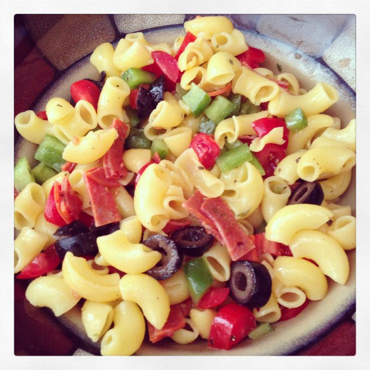 how to make a pasta salad healthy