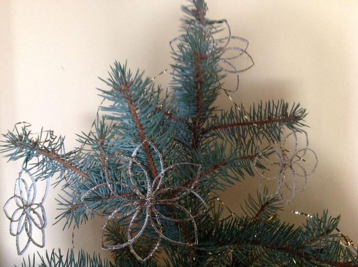 Creazione a Natale di stelle luminose! Riciclo plastica.