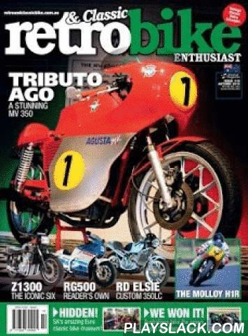 Retro & Classic Bike  Android App - playslack.com ,  Retro & Classic Bike Enthusiast is a magazine for true bike lovers – we get in to the garage and look at everything you can do to dream bikes from the classic era to 2001. The publication is Edited by Jeff Ware, with regular contributions from Wayne Gardener, Graeme Crosby, Mick Withers, Steve Martin, Paul Bailey, Alan Cathcart and many other industry leaders. We proudly offer the best Home Bike Mechanics content available with…