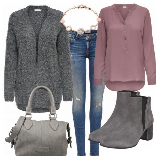 BigCityGirl Damen Outfit Komplettes Herbst Outfit günstig
