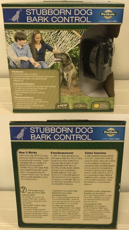 Other Dog Training and Obedience 146245: New* Petsafe Stubborn Dog Static Bark Control Collar Hbc11-14014 Waterproof -> BUY IT NOW ONLY: $37.99 on eBay!