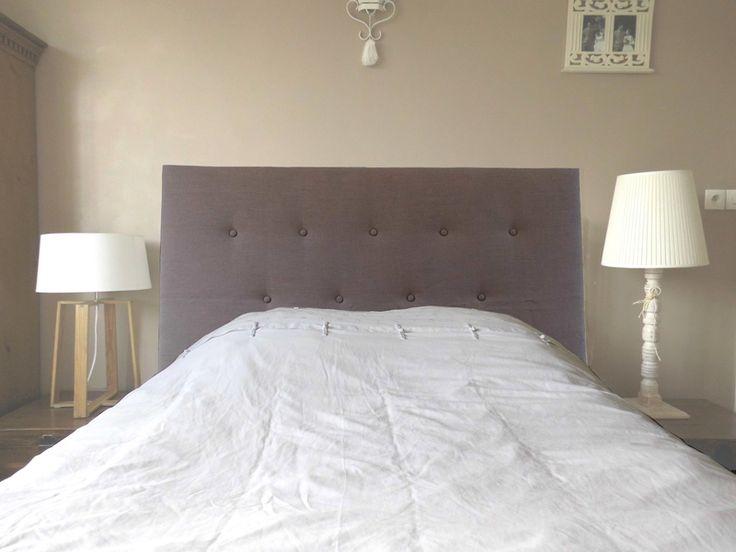 DIY Tête de lit matelassée