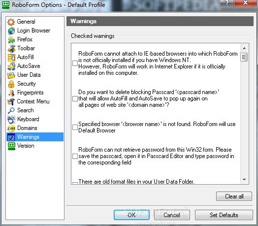 Roboform Enterprise Crack, Management Console Download