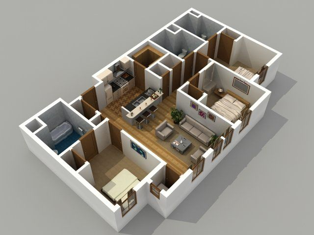 Apartment Lay Out For Designing Home Adore Apartment Layout House Design House Layouts