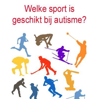 De ene sport is voor mensen met #autisme beter te doen dan de andere. Welke sport is geschikt bij autisme?