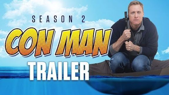 Check out Alan Tudyk Nathan Fillion in new trailer for Comic Con HQ series 'Con Man'