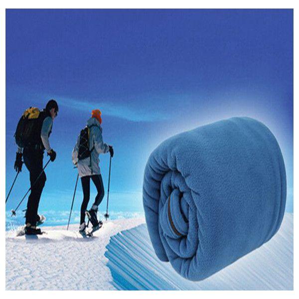 Vellón dormir bolsa de revestimiento saco de dormir ultraligero ultrafino