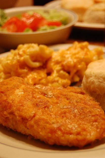 Heritage Schoolhouse: Oven Fried Chicken