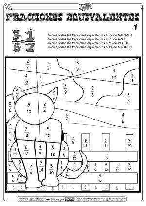 Fracciones equivalentes 01
