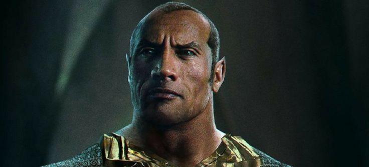A Warner no começo do ano, anunciou que The Rock interpretaria Adão Negro, e que ele não séria vilão no filme do Capitão Marvel, mas sim do Shazam