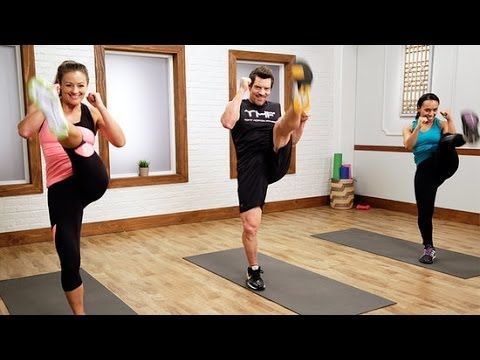 Quick, Intense, and Fun P90X3 Workout | Class FitSugar - YouTube