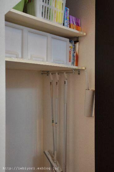 棚をプラスした階段下収納 : IEbiyori a0201116_11335090.jpg
