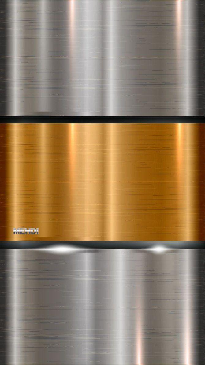 Metallic phone background by mehdidiv1