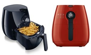 Groupon - Philips AirFryer with Rapid Air Technology (Manufacturer Refurbished). Groupon deal price: $139.99