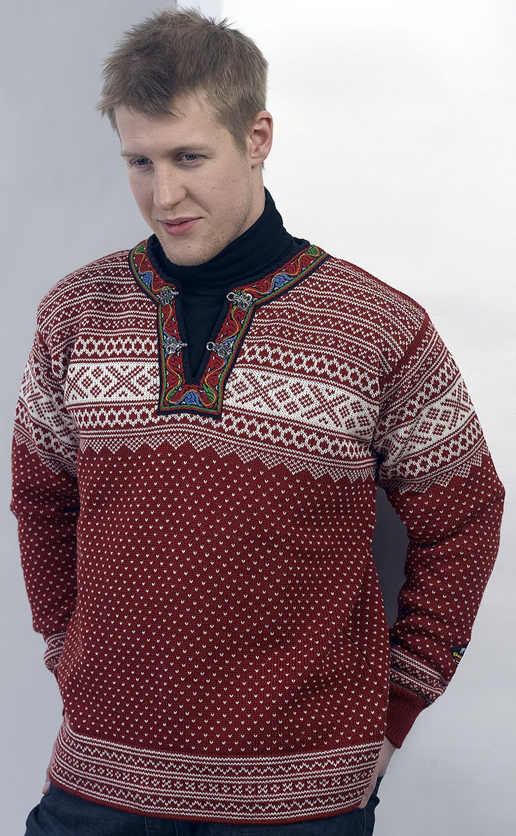 Setesdale Pullover - Red