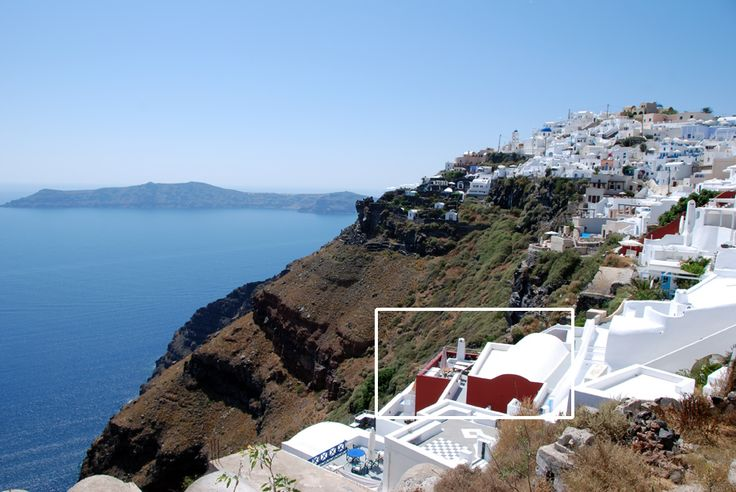 Hara's houses are located at Imerovigli village, the highest caldera village of Santorini, offering unique views!