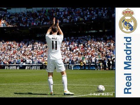 Real Madrid  Así fue el día de Gareth Bale a su llegada al Real Madrid