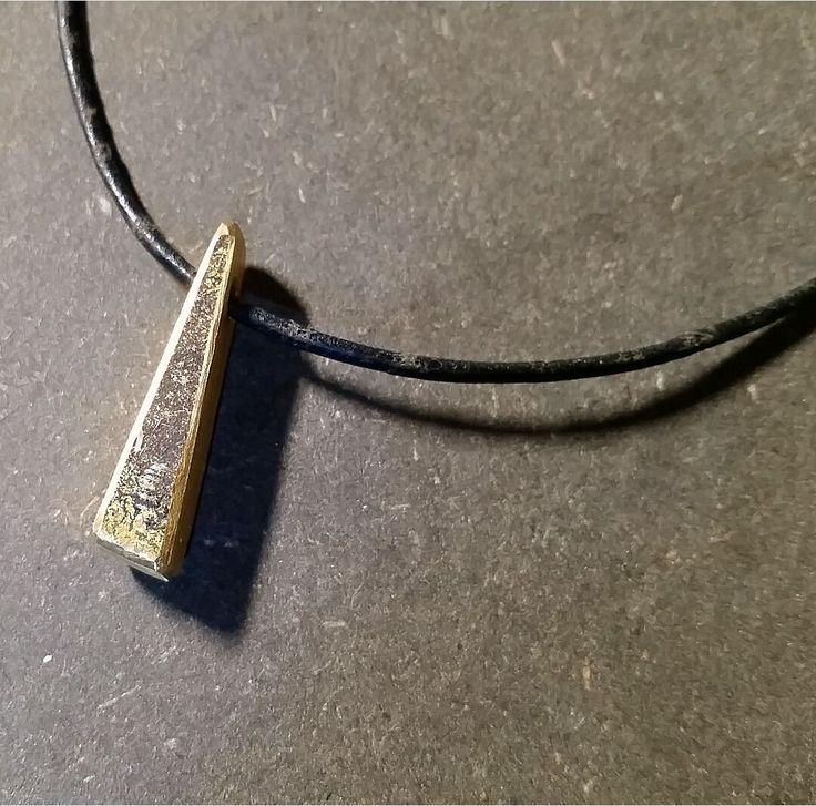 Triangle Brass Chain