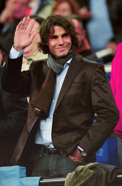 Rafael Nadal - handsome man, indeed