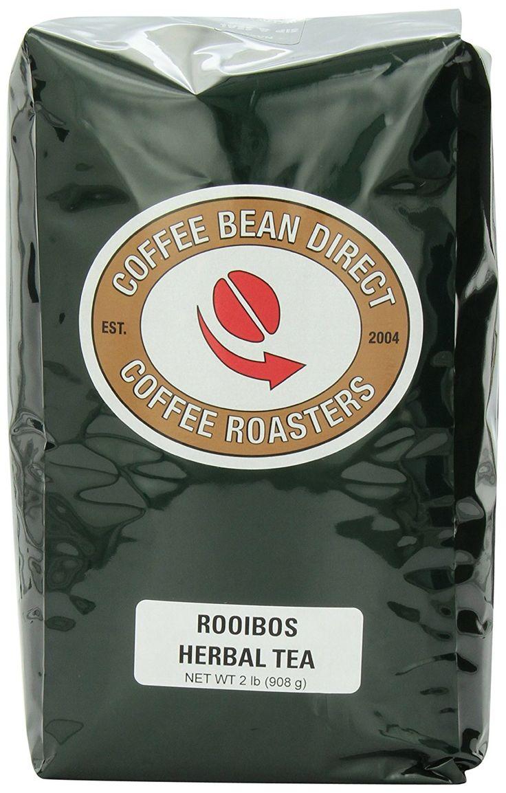 Coffee bean direct rooibos loose leaf tea 2 pound bags