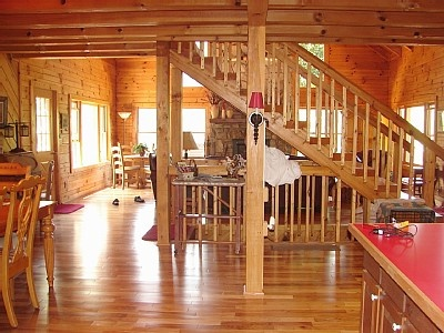 $1350 plus fees and taxes. hot tub, foosball pool darts, wood burning fireplace. Barn, it's nice.Maggie Valley