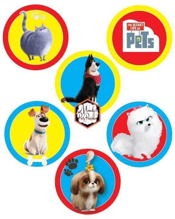 Secret Life Of Pets 2 Party Printables Secret Life Of Pets Animal Birthday Animal Party