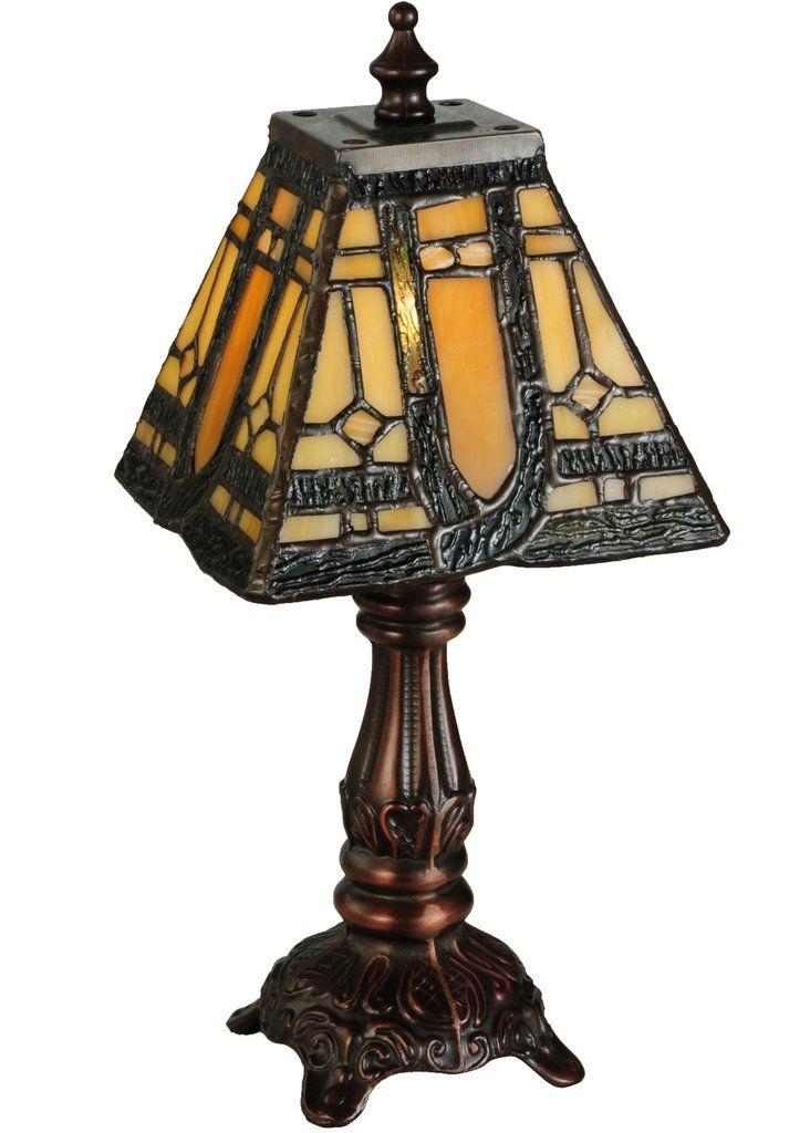 12h sierra prairie mission tiffany table lamp