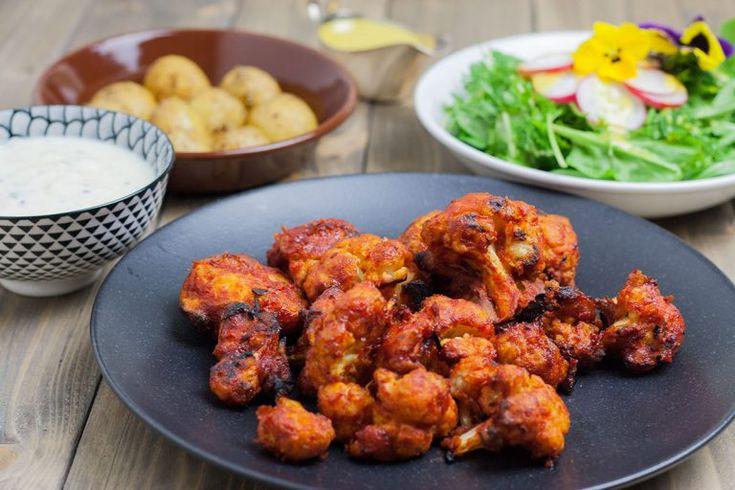 Veganisiert Rezepte Mangold Muskat In 2020 Buffalo Wings Aus Blumenkohl
