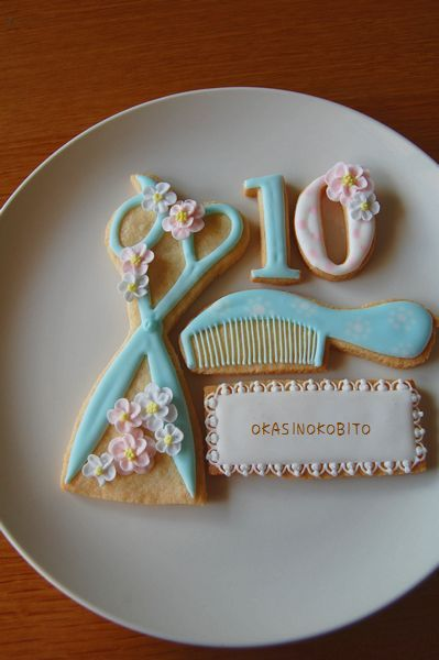 cookies for hairdresser