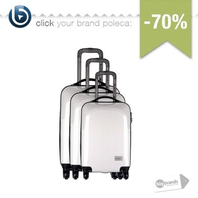 Przyjechaliście lub wyjeżdżacie w podróż?  Na pewno potrzebny będzie Wam zestaw walizek!:)    Walizki przecenione z 3170 na 949zł.