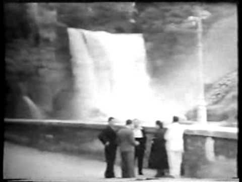 1933 - Isola del Liri e Cascata Grande (Isola del Liri and Vertical Wate...