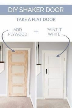 DIY Home Improvement On A Budget – DIY Shaker Door – Easy and Cheap Do It Yourself Tutorials for Updating and Renovating Your House – Home Decor Tips and Tricks, Remodeling and Decorating Hacks – DIY Projects and Crafts by DIY JOY #cheaphomedecor #homeimprovementtips Sophia Harper