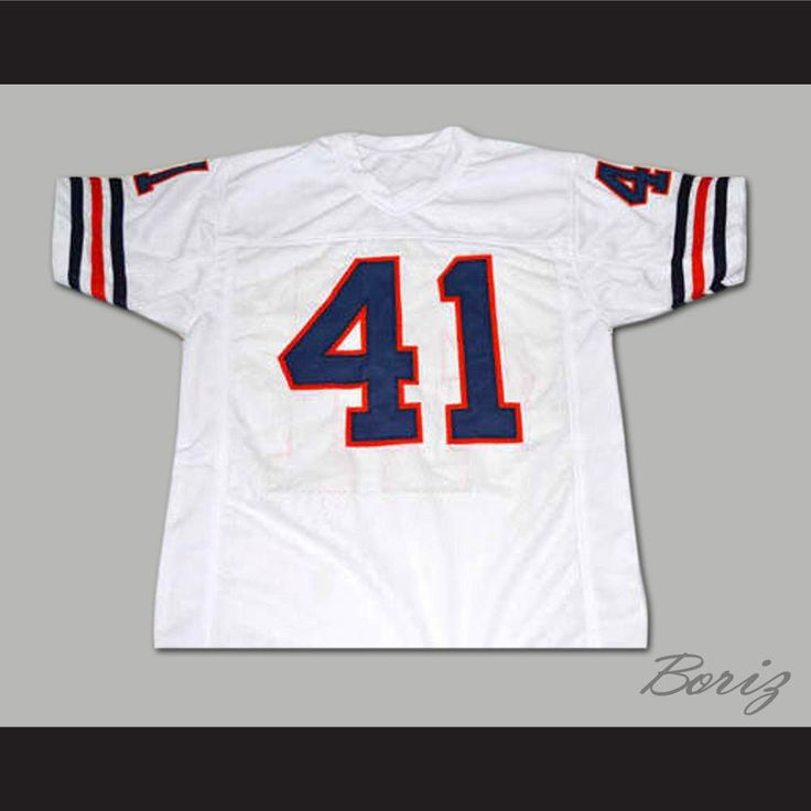 Brian's Song Movie Brian Piccolo Chicago Football Jersey. SHIPPING TIME IS ABOUT 3-5 weeks I HAVE ALL SIZES and can change Name and # (Width of your Chest)+(Width of your Back)+ 4 to 6 inches to account for space for a loose fit
