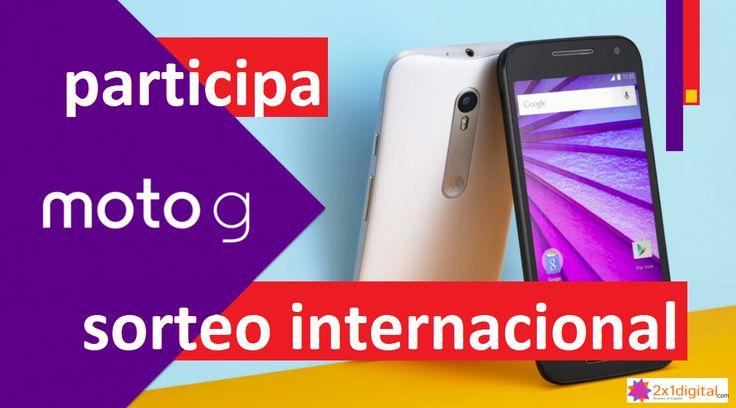 Sorteo Internacional de un fantástico Motorola Moto G gracias a 2x1digital…