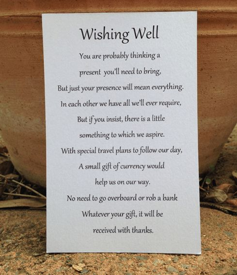 _Wishing_Well_Poem_in_White_Metallic.png 489?567 pixels Wedding ...