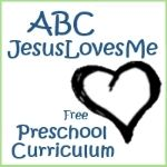 ABC Jesus Loves Me - 2 year homeschool or Sunday school early learning lesson planner! Already mapped out. Toddlers and pre-k! FREE! Set of two 36 weekly curriculum plans with activities, books suggestions, academics, self care, new concepts and bible lessons.