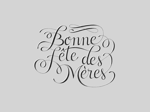 Designspiration — Typeverything.com - Fete des MeresbyClaire... - Typeverything