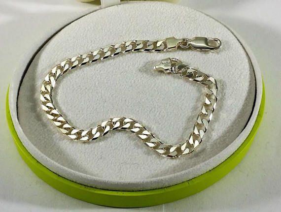 Armband Panzerarmband Silber 925 eleganter Klassiker SA247