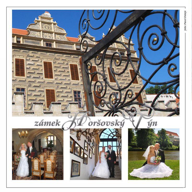 Horšovský Týn, zámek. Nádherný park pro fotografie svatebních fotografií. Po domluvě lze fotografovat i v interierech zámku.