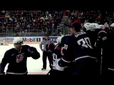 Garret Sparks Gold Medal Game Video