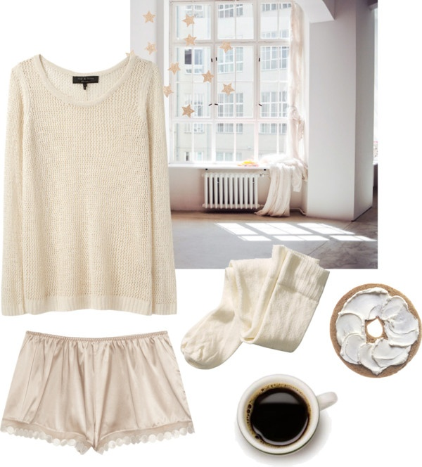 """sunday morning"" by bonevear ❤ liked on Polyvore"