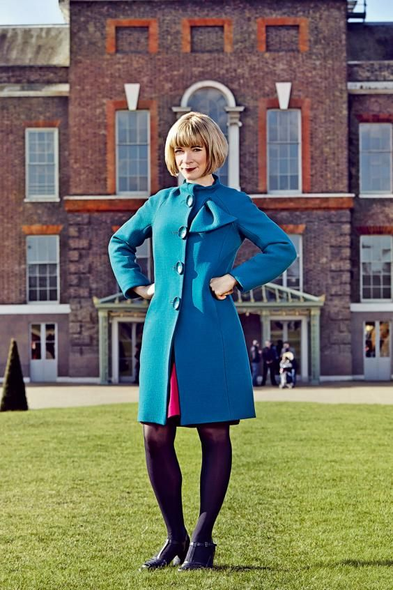 lucy worsley's blue coat photo - Google Search
