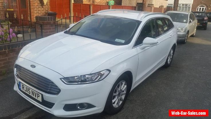 Ford Mondeo 2.0 TDCi ECOnetic Zetec 5dr (start/stop) cat D #ford #mondeo #forsale #unitedkingdom