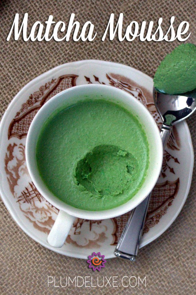 Just a handful of simple ingredients can create a wonderfully light textured matcha mousse that's versatile enough to go from breakfast to dinner to dessert.