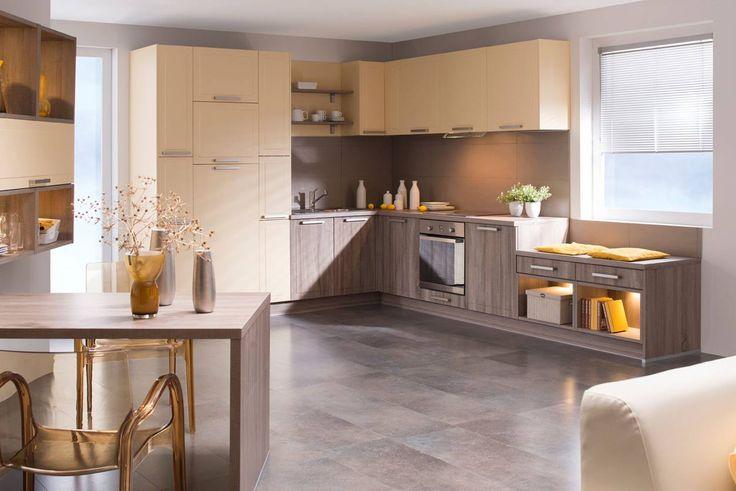 Kuchyně Olivie | SIKO KUCHYNĚ Klasická elegantní kuchyň postavená z moderních materiálů, která zaujme svou originalitou.